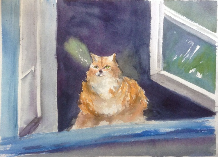 The cat's waiting for you - Image 0