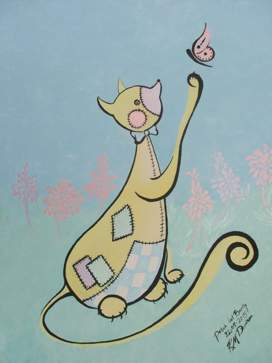 Patch Cat – Berty - Image 0