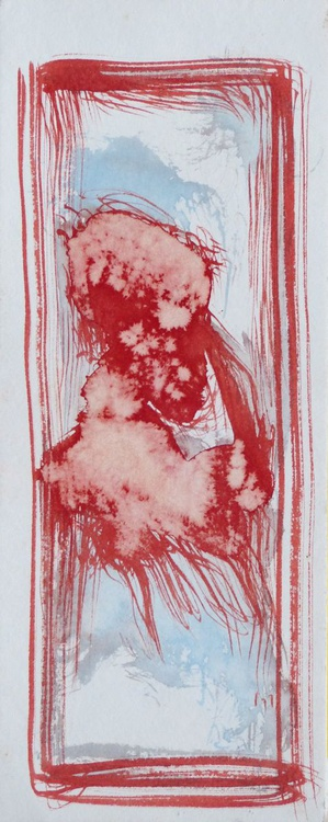 Variation on Passer-by #9, 13x32 cm - Image 0