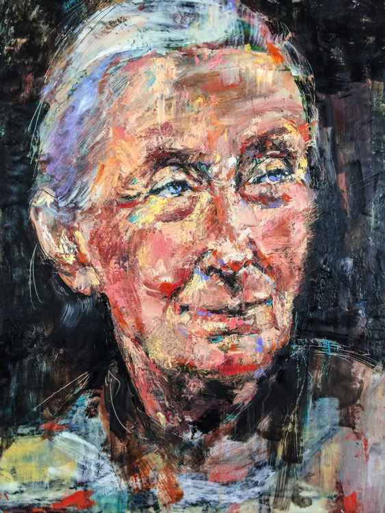 Jane Goodall, A Woman Who Changed the World -