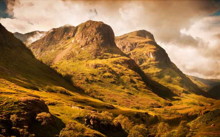 Three Sisters. Glencoe. Scotland (Ltd Edition of only 20 Fine Art Giclee prints from an original photograph)