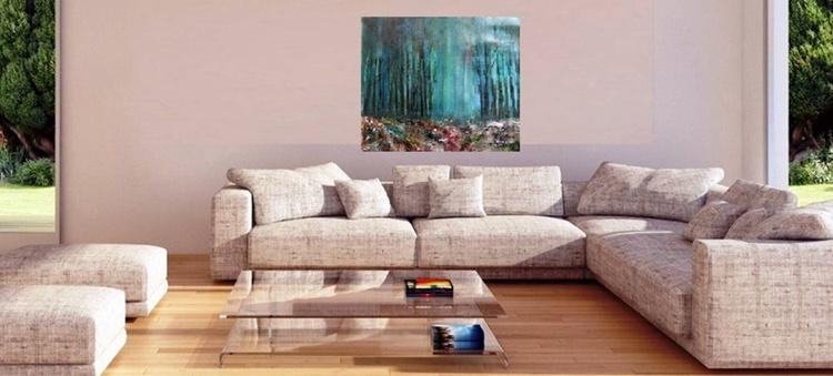 Sherwood 5 ~ Acrylic On Card ~ English Impressionist Painter - Image 0