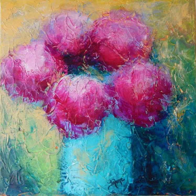 Pink Peonies; A Sense of Spring