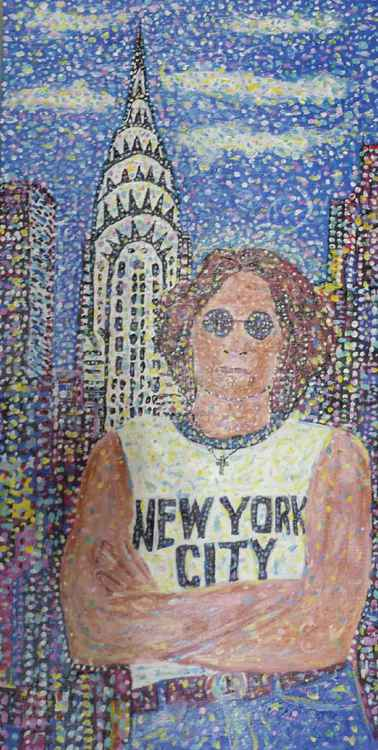 John Lennon Chrysler Building