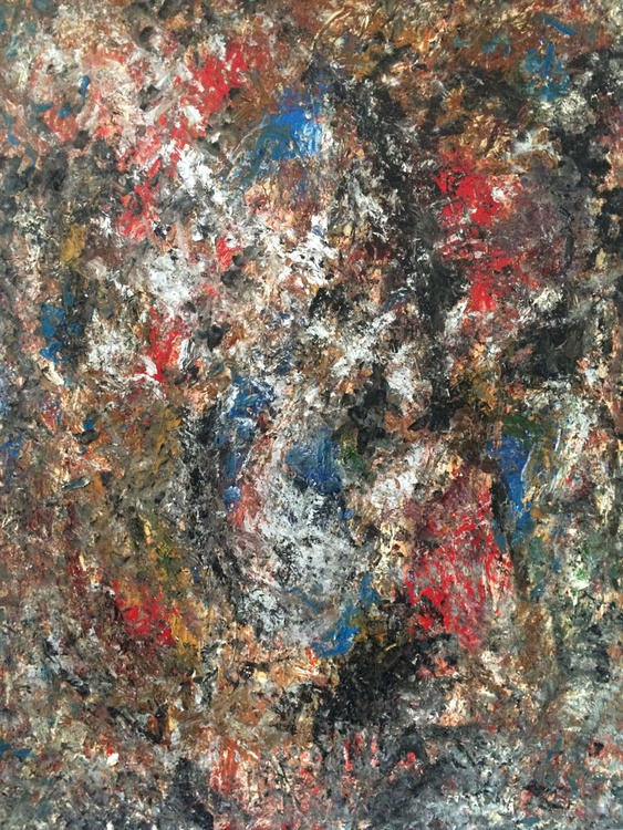 Silver Vision - Oil on canvas 40x30 - Image 0