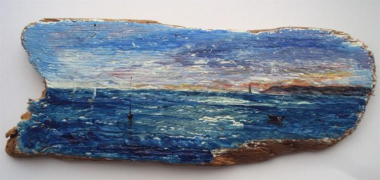 Driftwood Seascape - Image 0