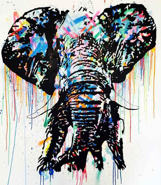 Bull Elephant -