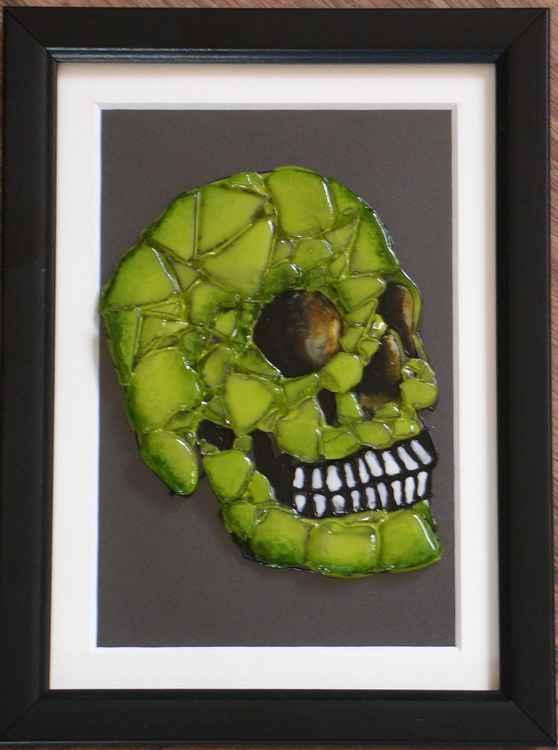Lateral Skull (Green) #1