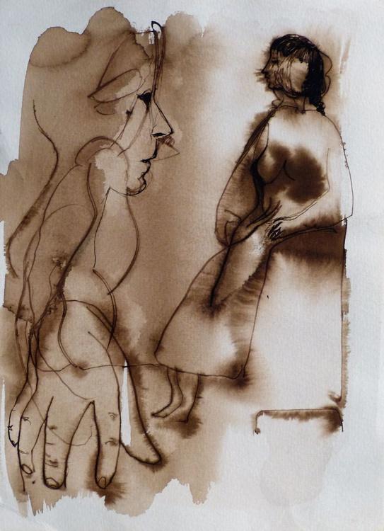 Study Of Hands 12, 21x29 cm - Image 0