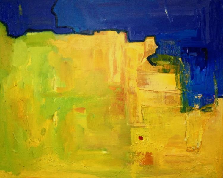 Lime Blue journey 'Living Colour' - Image 0