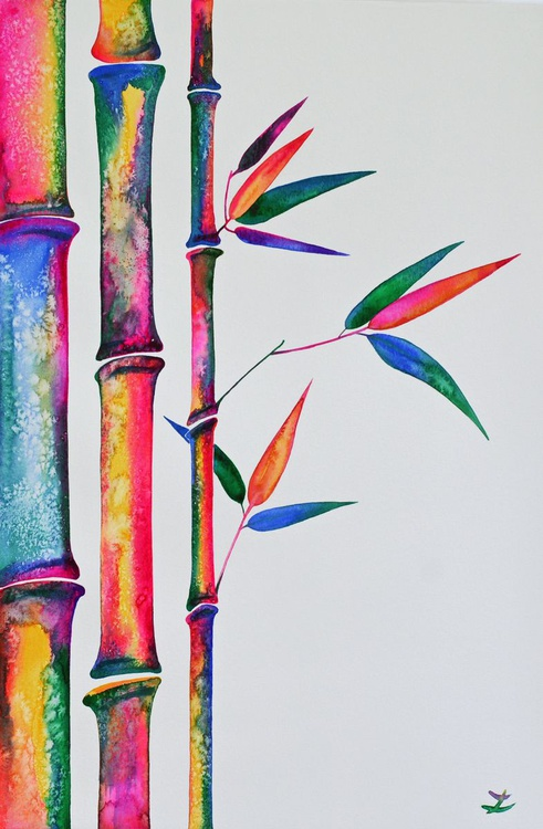Colorful Bamboo - Image 0