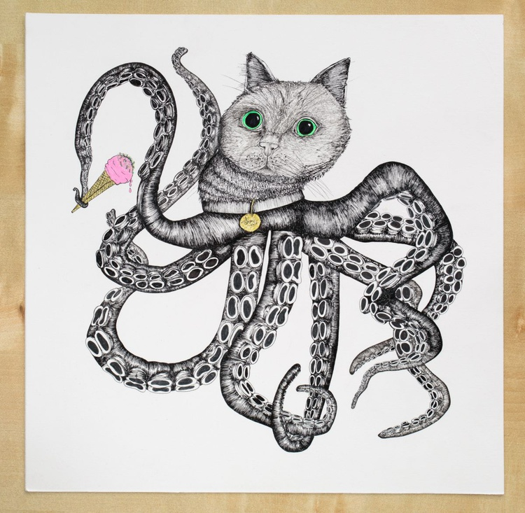 Octopussy loves Ice Cream - Image 0