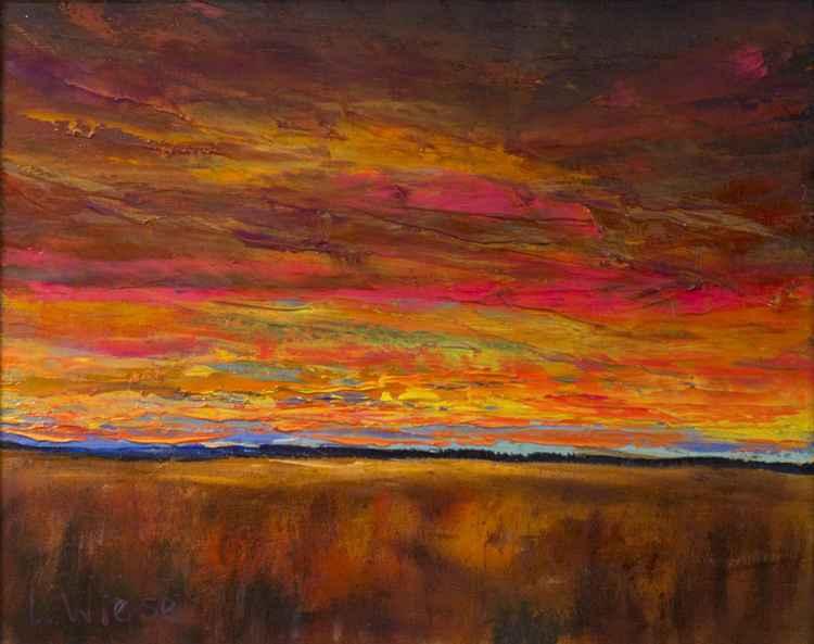 Kansas Sunset II -
