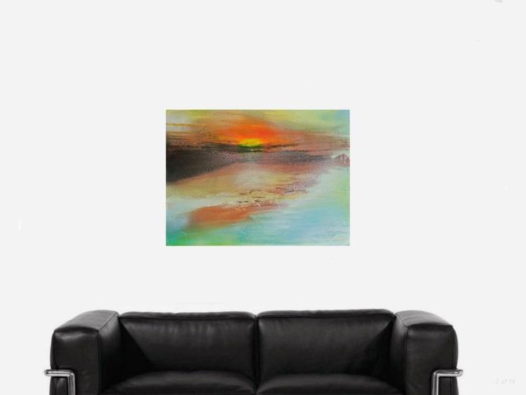 Sunset in las Sabanas. - Image 0