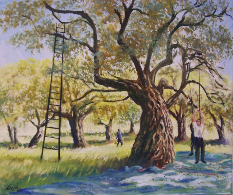 The olive pickers - Image 0