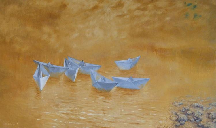 Lagoon, 160x90cm - Image 0
