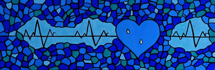 A blue heartbeat - Image 0
