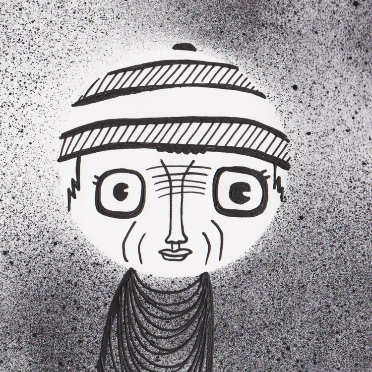 People Watching Sketch - 48 - Washboard Forehead - Image 0