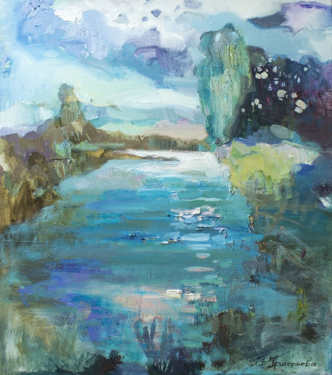 Pond in KerKshli - Image 0