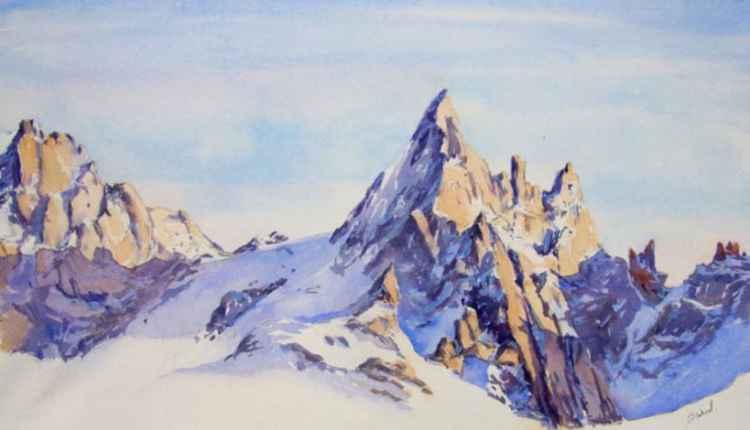 Aguille du Grepon, Chamonix -