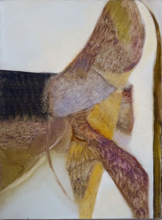 Fish Tail, or, Remainder of Lent, oil on canvas 54x73 cm - Image 0