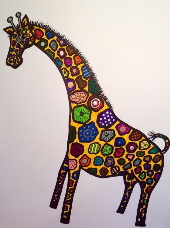 Patchwork Giraffe - Image 0