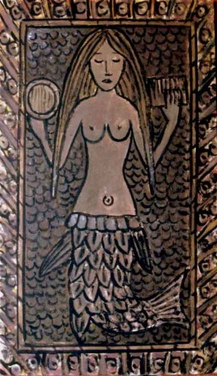 The Zennor Mermaid. -
