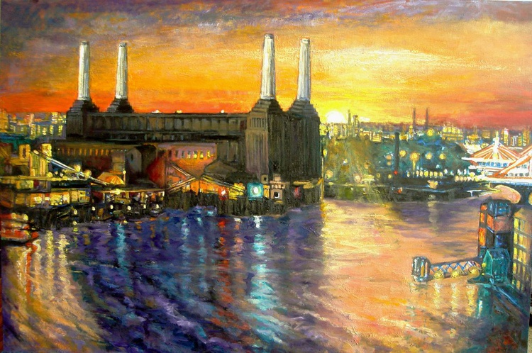 Battersea Power Station Sunset - Image 0