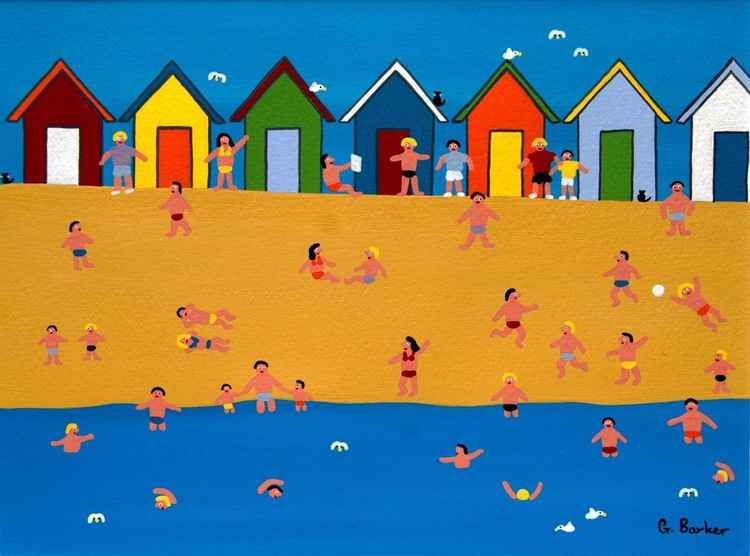 Beach huts -