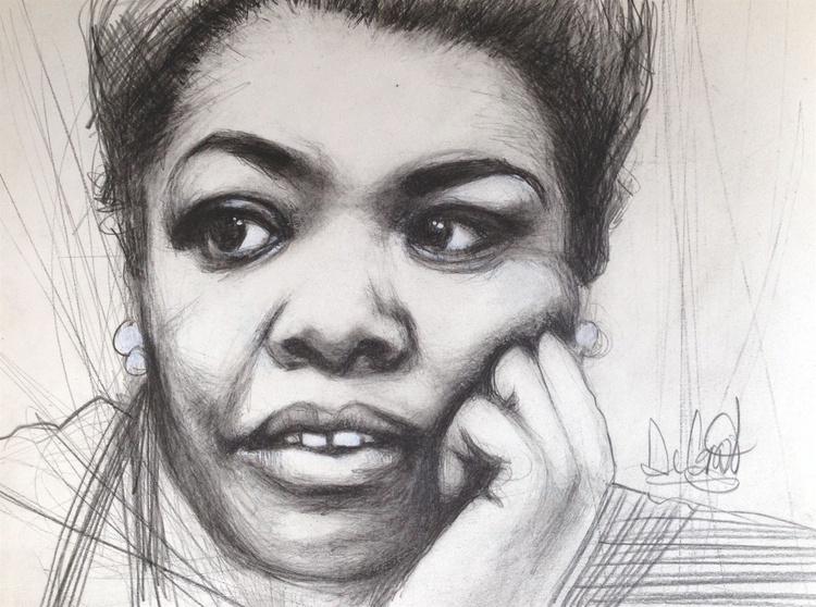 Young Maya Angelou - Image 0