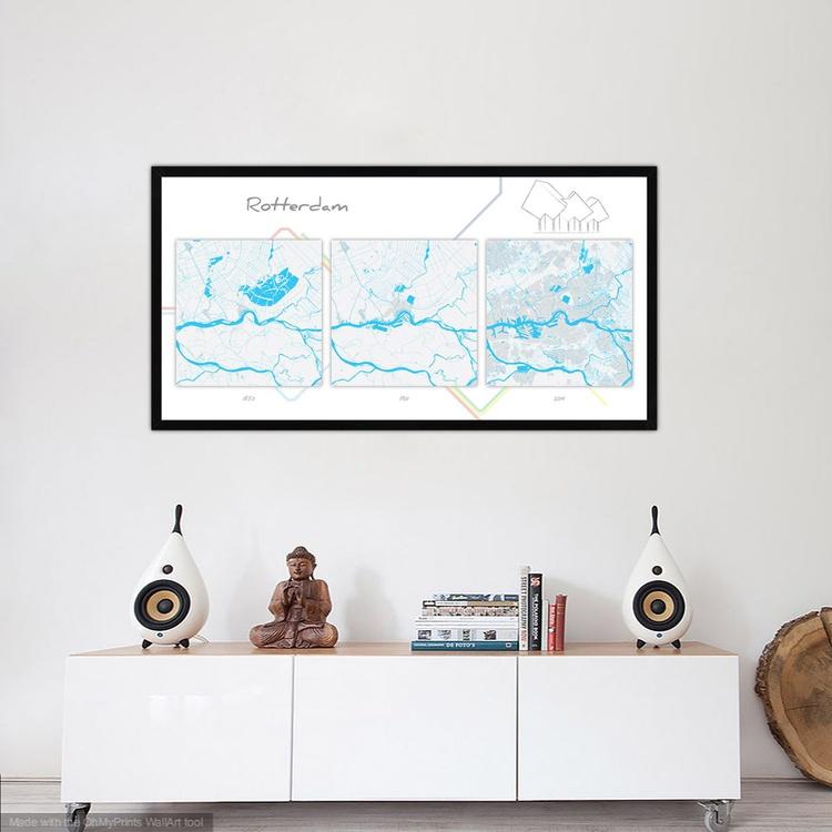 Evolution maps of Rotterdam - Image 0