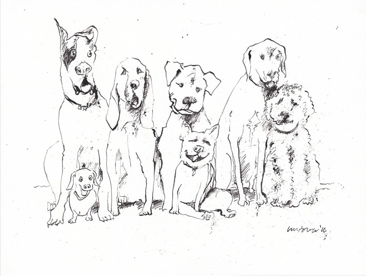 Dog mates - Image 0