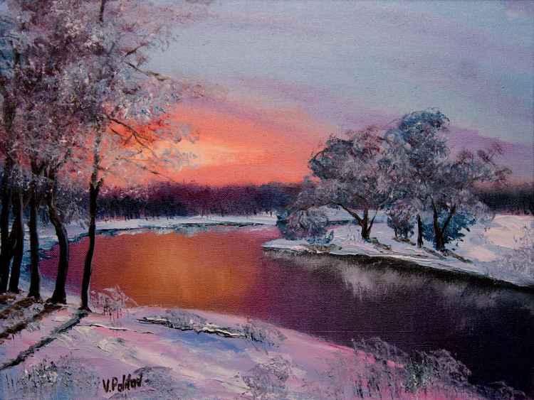 "Unique Work ""The Winter Evening """