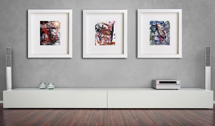 Kami Gods 1 - 2 - 3 (1990) | Triptych - Image 0