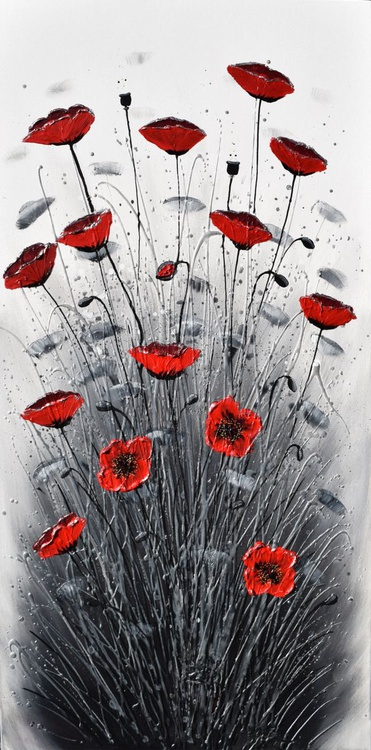 Love of Poppies - Image 0