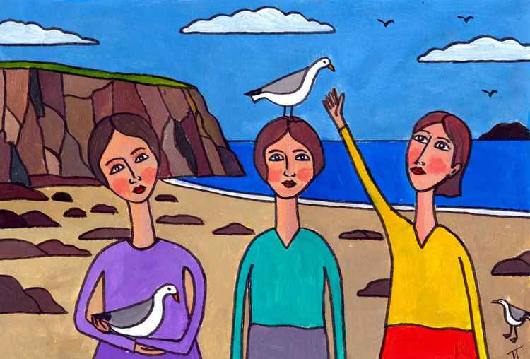 Gull Girls -