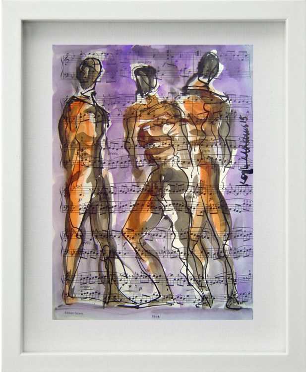 Three Male Figures 5 - Image 0