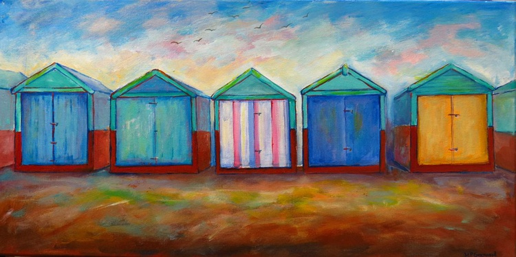 A Collection of Brighton Beach Huts - Image 0