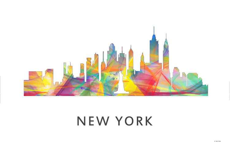 New York City New York Skyline WB1