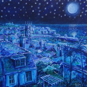 Moonlight Over St Ives by Paul Clark