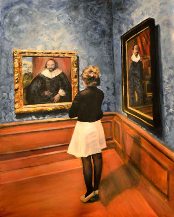 Watching Dutch old Masters -