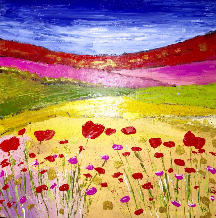 Poppies and Rosea in the fields - Image 0