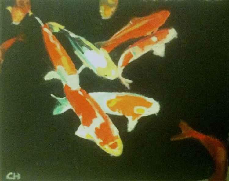 Koi Fish -