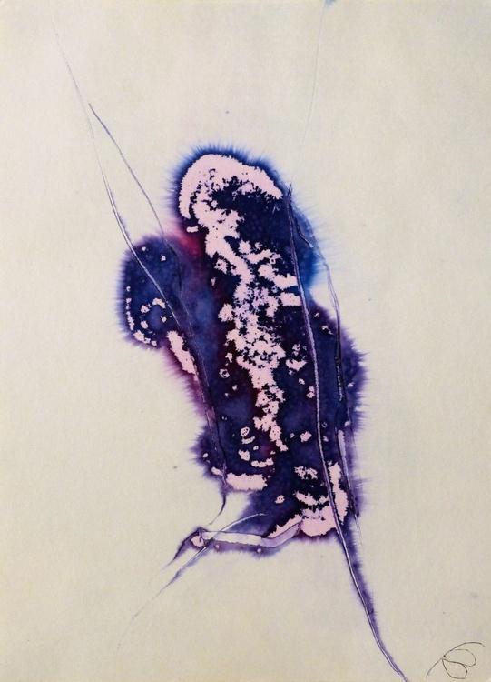 Ink on Paper #265, 41x29 cm - Image 0