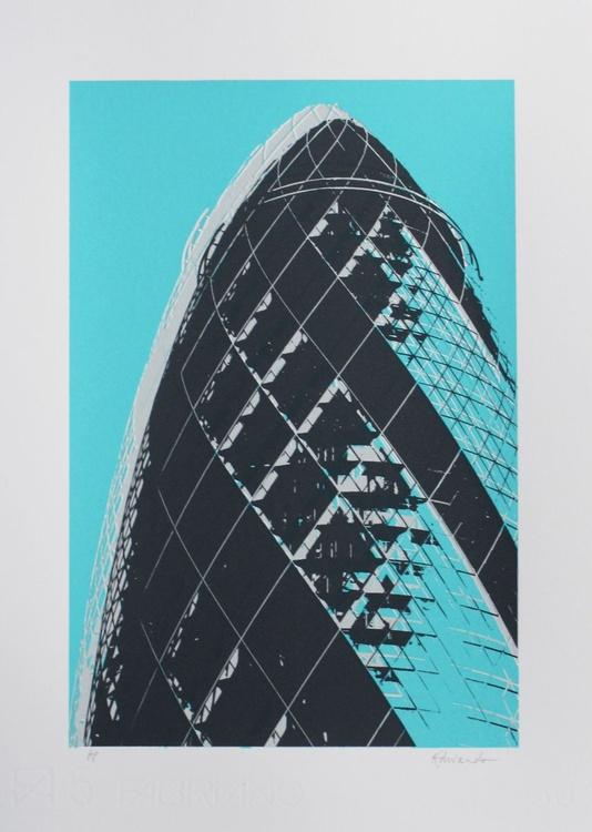 Gherkin (blue) - Image 0