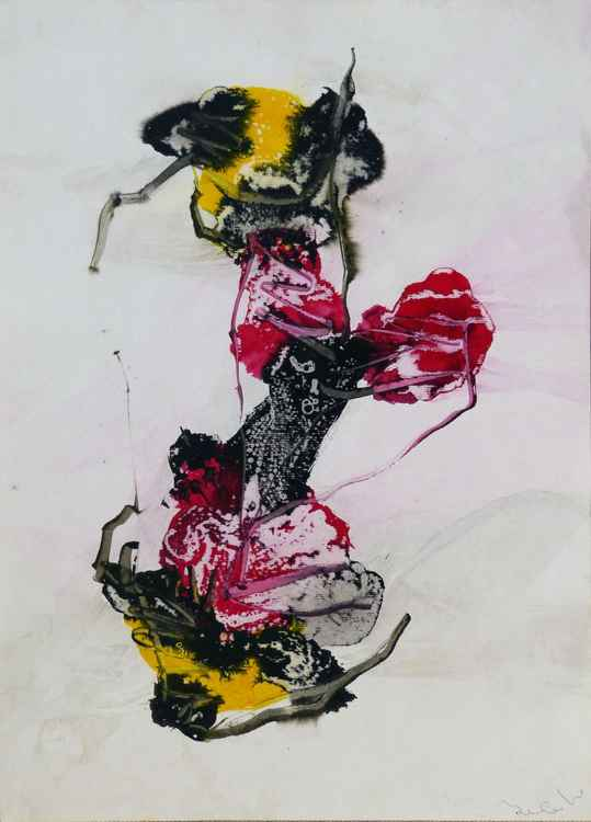 Movement 2, 58x42 cm