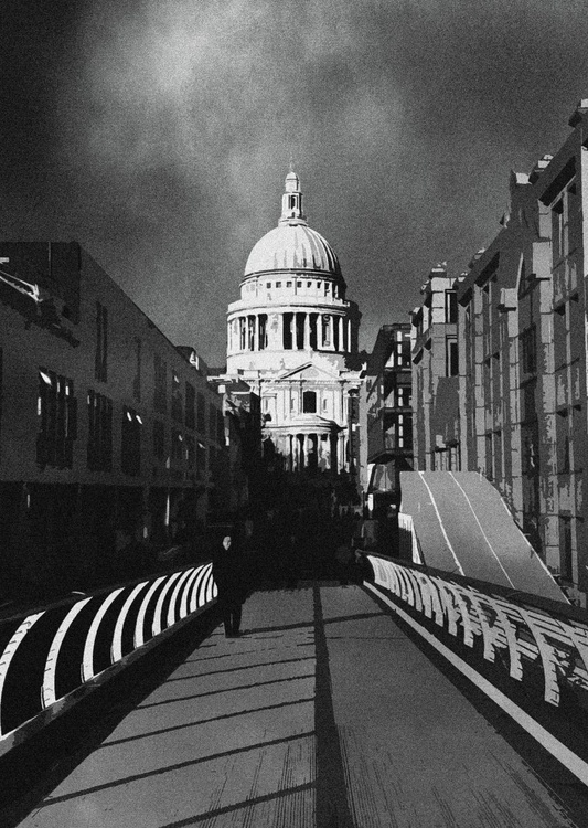 London Photos: Saint Paul's - A2 Edition of only 20, London Monochrome Photography Series - Image 0