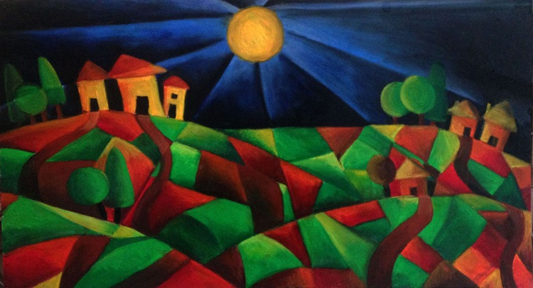 The Houses on the Hills - Image 0