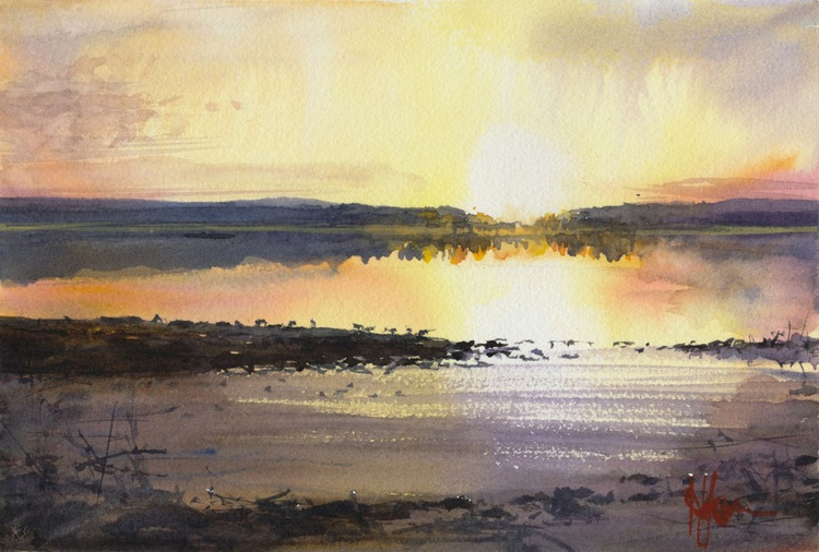 Lake Sunset - Image 0