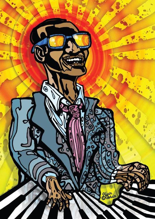 Ray Charles (NO SIGHT ≠ NO VISION #1) - [Edition #3] - Image 0